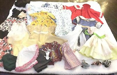 Vintage Doll Clothing Lot For Your Hard Plastic Or Compo Dolls 14-18 In Shoes+++