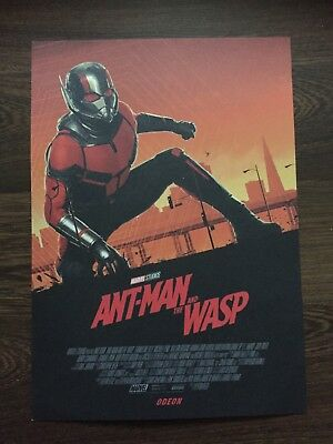 Ant Man And The Wasp Odeon Poster