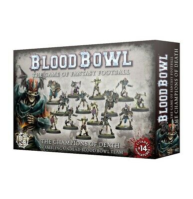 Champions Of Death Blood Bowl Team Games Workshop Brand New