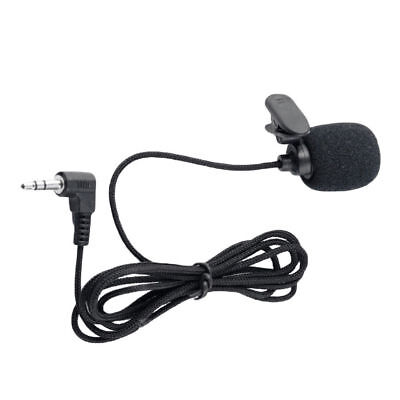 3.5mm Jack Clip-on Lapel Mini Lavalier Microphone Mic For IPhone/SmartPhone New