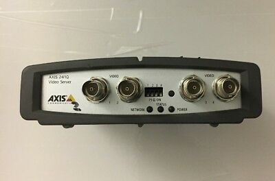 Axis 241Q 0185-001-04 4 Channel Network Video Server