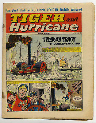 Tiger 29th May 1965 (Roy of the Rovers, Jet-Ace Logan, Olac the Gladiator)