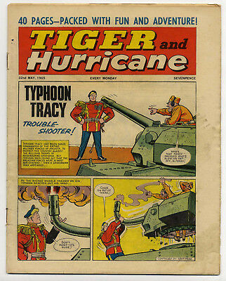 Tiger 22nd May 1965 (Roy of the Rovers, Jet-Ace Logan, Olac the Gladiator...)