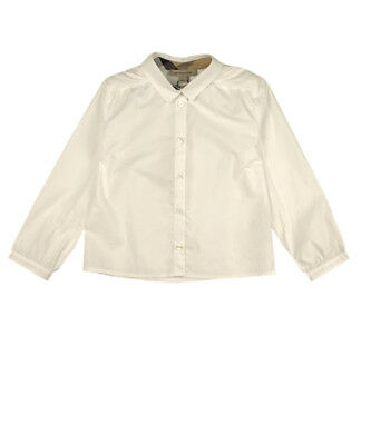 Burberry Bluse - weiß - OUTLET SALE ANGEBOT
