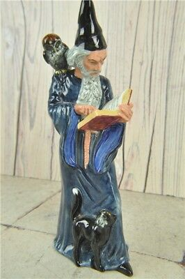 "Royal Doulton HN2877 The Wizard Figure Ornament 10"" Tall Decorative Pottery"