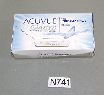 Johnson & Johnson - Acuvue Oasys with Hydraclear Plus - 12er Box D +5.00 (N741)