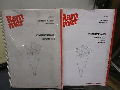 SANDVIK TAMROCK RAMMER S27 & City Hydraulic Hammer Parts Catalog