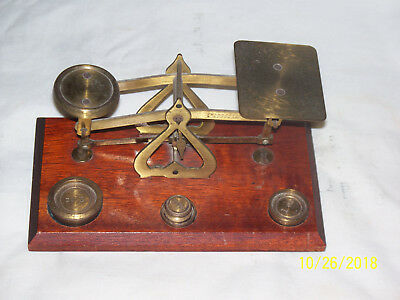 Vintage Stamp Scales Made In England