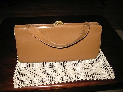 Vintage French Dofan  Leather  Handbag-1950