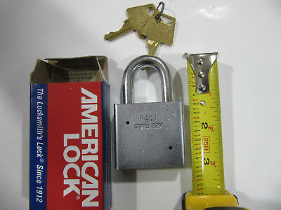 "(6) American Lock A5260 Heavy Duty Padlocks 2"" Wide Keyed Alike NEW!!! Free Ship"