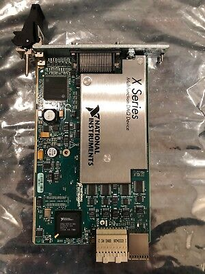 National Instruments NI PXIe-6363 DAQ Data Acquisition 32 Analog Inputs Card