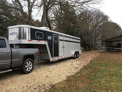 Exiss Stock Trailer Combo STC 24, Horse Trailer
