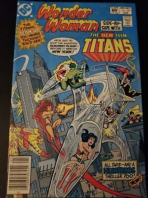 Wonder Woman And The New Teen Titans Issue 287 DC Comics