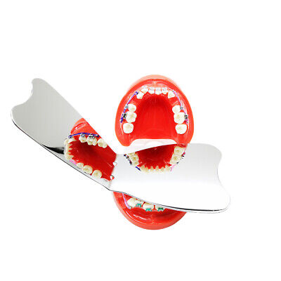 10 x Dental Orthodontic Intra-oral Mirror Photographic SS Reflector Size 11