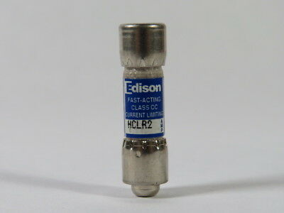 Edison HCLR2 Fasting Acting Fuse 2A 600V  USED