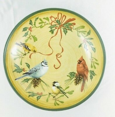 "Lenox Winter Greetings Everyday Pasta Serving Bowl 14 3/8"" MINT Unused NEW w/Tag"
