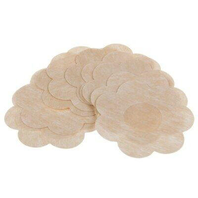 10 PAIRS PETAL Self Adhesive nipple covers pads patches braless reusable