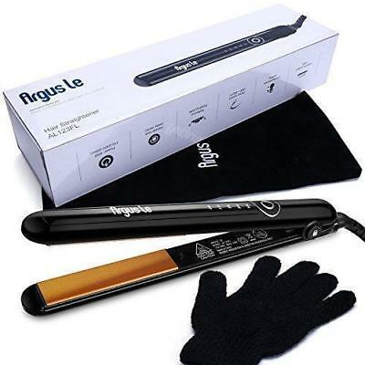 Argus Le Professional Ceramic Ionic Flat Iron Dual-Purpose Hair Straightener