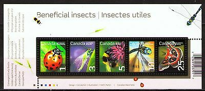 Canada 2007 Sc2238a  MiB98  1 SS  mnh  Beneficial Insects