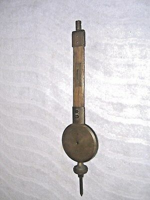 Clock  Parts , Medium Weight  Pendulum , 234  Grms