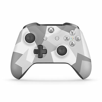 Official Microsoft Xbox One S Controller Wireless Bluetooth WINTER FORCES *NICE*