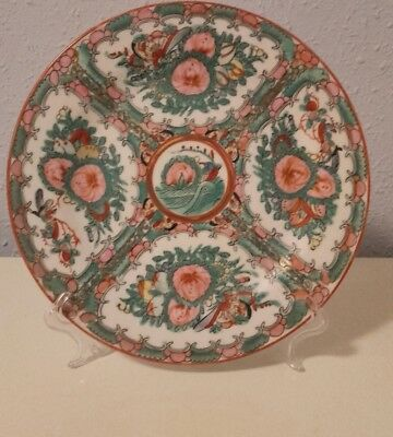 Antiguo plato porcelana china