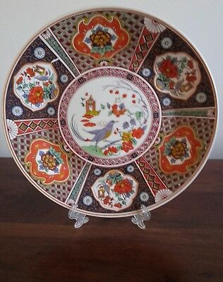 Antiguo plato de porcelana china