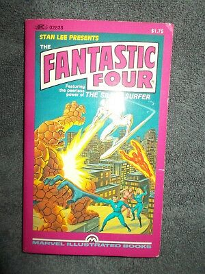 Fantastic Four Stan Lee Presents The Marvel Illustrated Books  Marvelmania 1982