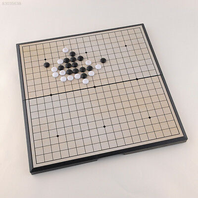 1C39 Foldable Game of Go Go Board Game WeiQi Baduk Full Set Stone Study Size