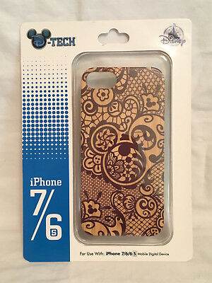 Disney Mickey Wooden D-Tech iPhone Case Fits iPhone 6,7,8 NEW In Package