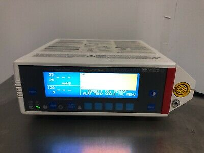 Novametrix Medical Systems Capnogard ETCO2 Monitor excellent condition *tested*