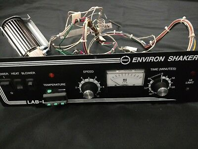 Lab-line Instruments 3527 Shaker Control Panel Thermostat Fan Switches BIN $129!