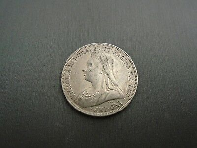 1894 Great Britain One Shilling - Silver #K3