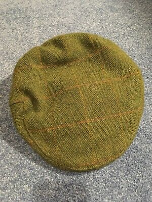 Child's Country Tweed Cap XS 53cm (also Selling Matching Jacket Size Small)