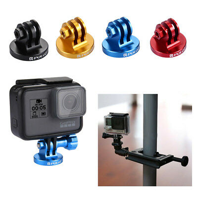 For GoPro HERO 6 5 4 3 3+ 2 1 PULUZ CNC Camcorder Aluminum Tripod Mount Adapter