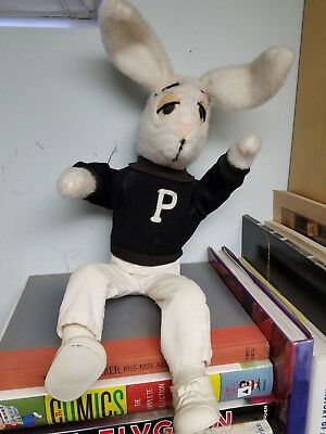 1960's playboy club plush bunny... with shoes!