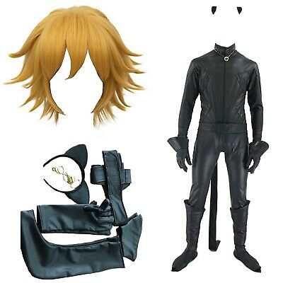 Simile Cat Noir Costume Carnevale Tipo Ladybug Cosplay Chat Costume CHAN08