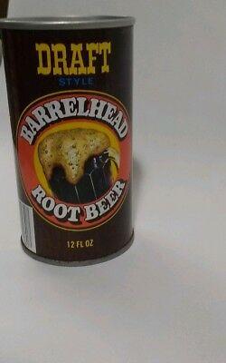 Vintage Barrehead Root Beer Steel Can