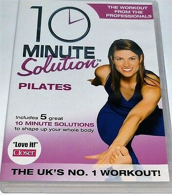 10 Minute Solution Pilates Dvd Shape Your Whole Body Workout Fitness