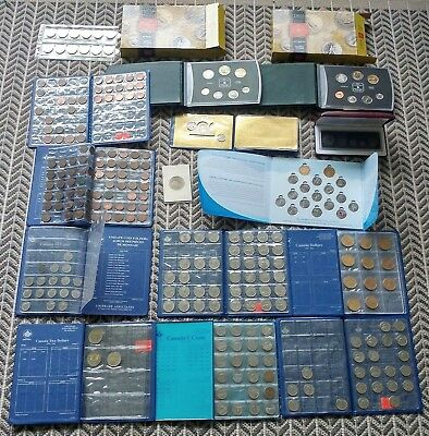 Large Collection Of Canadian Coins Sets RCM - Hundreds Of Coins! #coinsofcanada