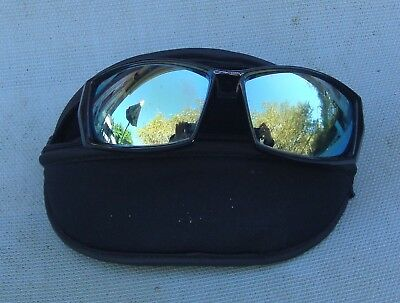 558acd4126 Vintage Oakley U Straight Sunglasses 2000 Jet Black Frames Very Dark Lenses