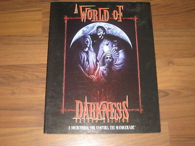 Vampire The Masquerade A World of Darkness 2nd Edition 1996 White Wolf WWP2226