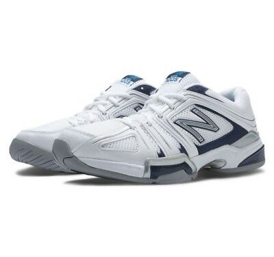 Men's New Balance MC1005WP Tennis Shoes - White/Navy/Gray - NIB!
