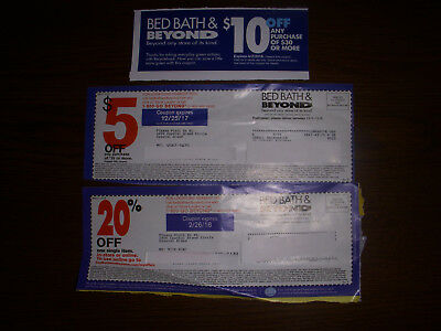 Bed Bath And Beyond Coupons- $10 off $30 plus $5 off $15 purchase and 20% off