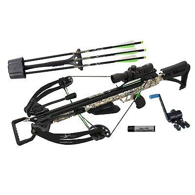 20310 Carbon Express XForce PileDriver 390 Crossbow with Crank