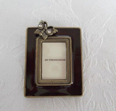 "New - JAY STRONGWATER Mini Picture Frame - 2 1/8"" x 1 3/4"""