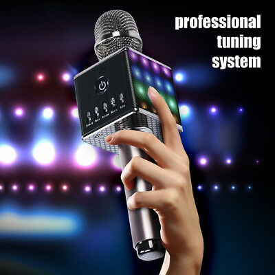 Karaoke Microphone Mic Wireless Bluetooth Speaker For Apple IPhone KTV Singing