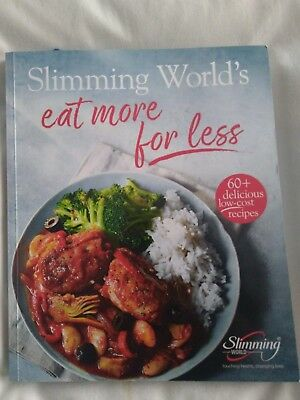SLIMMING WORLD - Eat More For Less Recipe Book. Brand New.