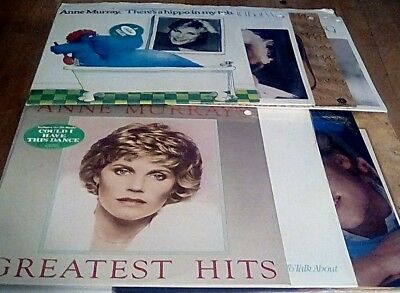Anne Murray (Lot of 8) LP Vinyl Record Albums