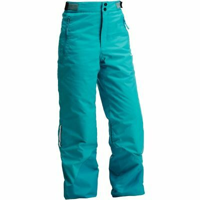 Wed'ze by Decathlon Girls Turquoise Evoslide Waterproof Ski/Snow Pants
